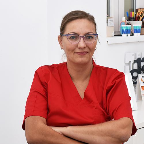 Dr. GRIGORESCU ADINA - Medic stomatolog coordonato